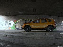 Dacia Duster Tuning 16 by cipriany