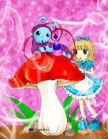 Alice and Caterpillar by Hoshi-Wolfgang-Hime