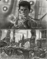 Sketchbook 15 - Doctor Who tribute by MJWilliam
