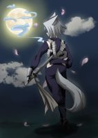 Ninja Under The Moon by mandygugs