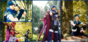 Cosplay: Prince Marth of Altea by Kiarou