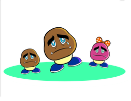 Save the goombas by chingolobird