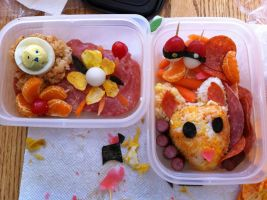 Fox or deer bento by norbertrox