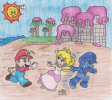 Super Mario Sunshine by BabyAbbieStar