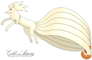 Ninetales_V2 by Foxie-The-Vulpix