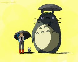 Kidlock: My neighbour Totoro by puddinge