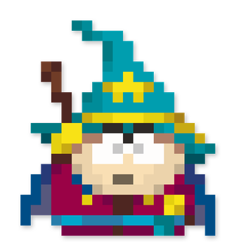Day #143 - The Grand Wizard King (Eric Cartman) by JINNdev