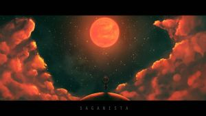 Saganista Wallpaper by Ullbors