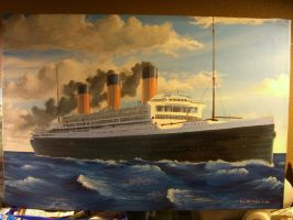 RMS Majestic, 1922 by rhill555