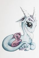 Mommy and baby by BittyBiteyOnes