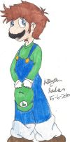 Luigi Being Adorable by Apricot-Specific