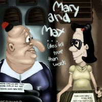 Mary And Max by Janeholiday