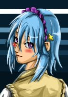 Rosario portraits Kurumu by Falroth