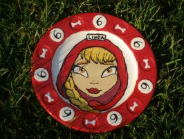 Zombie Girl Plate 09 Front by Gummibearboy