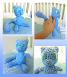 Shiny Mew Crochet by SonARTic