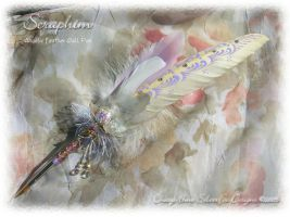SERAPHIM Angelic Feather Pen by ChaeyAhne