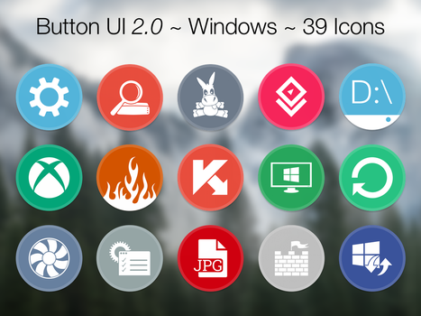 Button UI 2.0 ~ Windows by BlackVariant