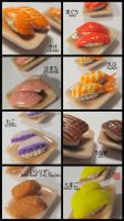Sushi Miniature by WinMush
