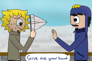 Tweek and Craig by ChillyFlutter