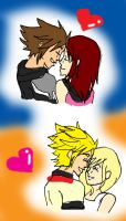 KH Love - SoKai and RoNami by CherryBlossoms24