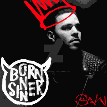 J. Cole - Born Sinner v2 (Custom) by KingdomHeartsENT