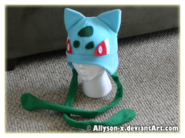 Bulbasaur Hat V2 by Allyson-x