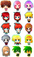 *FREE* Tales of the Abyss Avatar Pack by JennyJonu