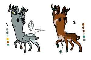 Deer Adopts CLOSED by jealousapples