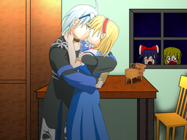 Alice X Rinnosuke Kiss v.Final by OHerman