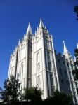 Salt Lake Temple by puddingpi