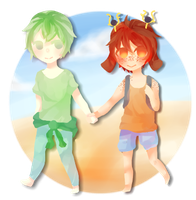 [ MC ] beach event by naiyun