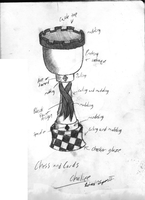 Chess and Cards Chalice Design by DrahcirII