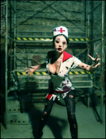 Zombie Nurse 2 by ViannZhang