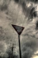 Give Way by photorealm
