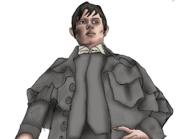 Barnabas Collins WIP by Sabaene