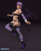 Ayane: Halloween 2014 by SupernovaX2