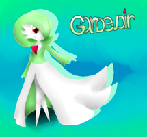 Gardevoir Artwork wallpaper by michelle09465