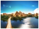 "Wallpaper pack - ""Utopia"" by AlexanderFriedl"