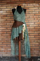 Lovely Gypsy Elven Dress by AstarteXOX