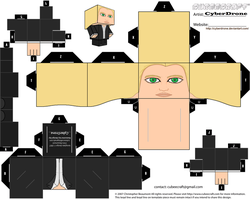 Cubee - Olivia Dunham by CyberDrone