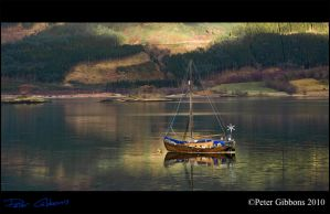 Boat on the water by Photo-Joker