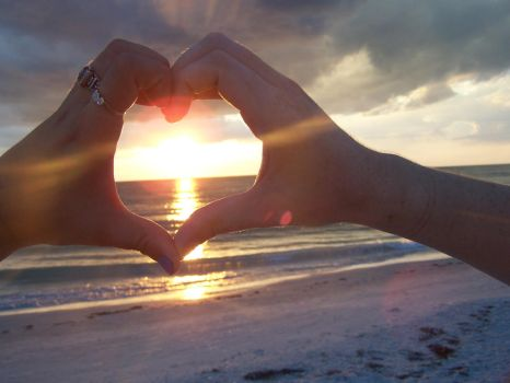 Sunshine and Heart by Roxasandcheckers