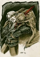 White Wolf and Fleder by OFFO