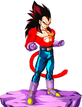 Vegeta SS4 by alexiscabo1
