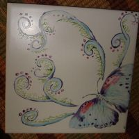 Butterfly tile by Stormphyre