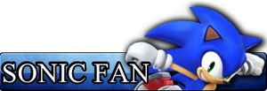 Fan Button: Sonic by RoxasXIIIAxelVIII