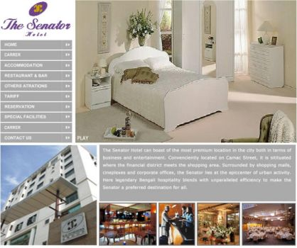 GUI for Hotel Website by gopalb