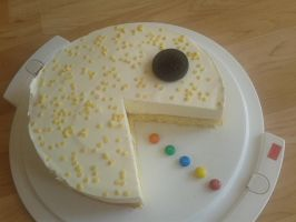 Pacman Cake by Schrotter