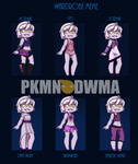PDWMA: Sawyer's Wardrobe by Shiiruba