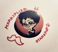 Markiplier Pin by OtakuPup